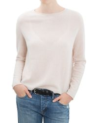 Inhabit Cashmere Button-Back Sweater - Lyst