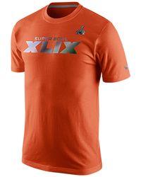 Nike Men'S Super Bowl Xlix T-Shirt - Lyst
