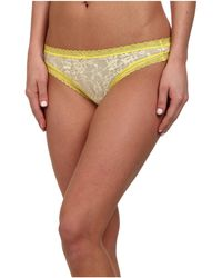 DKNY Signature Lace Thong 576000 - Lyst