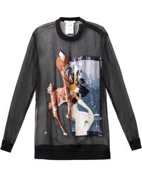 Givenchy - Sequin Embellished Bambi Silk Sweatshirt - Lyst