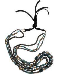 Royal Nomad Jewelry - Three Strand Labradorite And Aquamarine Necklace - Lyst
