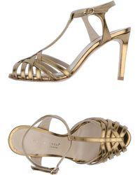 Ilaria Toschi - High-heeled Sandals - Lyst