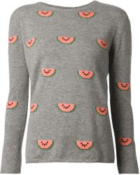 Chinti & Parker Watermelon Sweater - Lyst