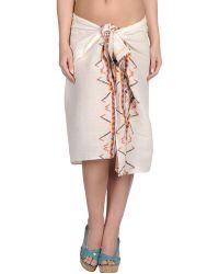 Antik Batik White Sarong - Lyst