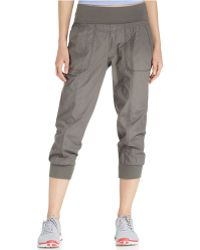 Calvin Klein Performance Cropped Active Pants - Lyst