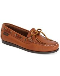 G.H.BASS - Seabridge Leather Loafers - Lyst