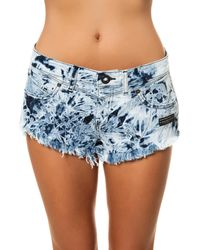 Volcom The Chonies Denim Short - Lyst