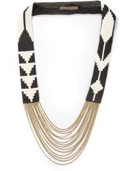 Fiona Paxton - Edie Beaded Necklace - Lyst