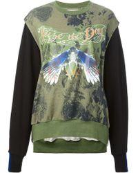 Preen Nature Print Sweatshirt - Lyst
