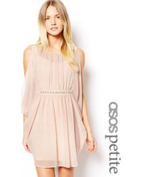 Asos Exclusive Caftan With Embellished Waist - Lyst