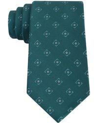 DKNY - Patterned Silk Tie - Lyst