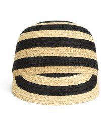 Maison Scotch - Women'S Straw Baseball Cap - Lyst