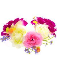 ASOS - Asos Flower Hair Garland - Lyst