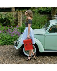Sophie Fleming - The Carnaby Backpack Red - Lyst