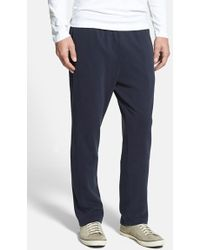 Tommy Bahama 'New Pacific Palisade' Pima Cotton Knit Pants blue - Lyst