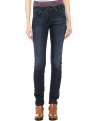 Citizens Of Humanity Arielle Straight Leg Jeans Space - Lyst