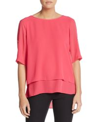Chaus New York - Double-layered Top - Lyst