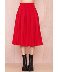 Nasty Gal You Compleat Me Skirt - Lyst