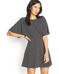 Forever 21 Abstract Print Dress - Lyst