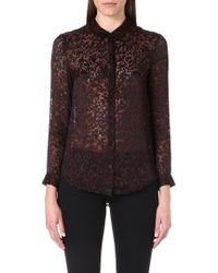 The Kooples Sport - Burn Out Shirt - Lyst