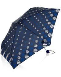 Hobbs - Stripe Spot Umbrella - Lyst