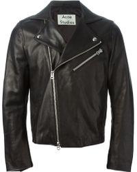 Acne Studios Gibson Biker Jacket - Lyst