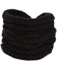 MICHAEL Michael Kors - Cable Knit Headband - Lyst