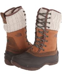 The North Face Shellista Lace Mid - Lyst