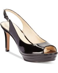 Nine West Able Mid-heel Pumps - Lyst