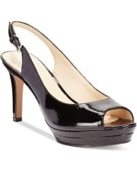 Nine West Able Midheel Pumps - Lyst