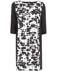 Mango Watercolour Print Dress - Lyst