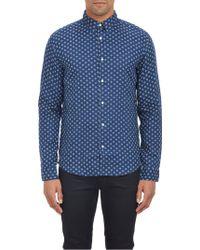 Vince Floral Medallion Shirt - Lyst
