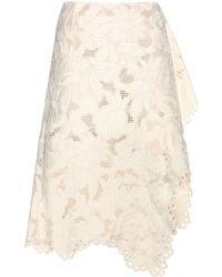 Marni Lace Skirt - Lyst