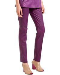 Akris Purple Pant - Lyst