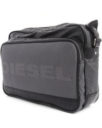 Diesel Potse Twice Grey Messenger Bag - Lyst