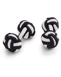 Brooks Brothers Knot Cuff Links - Lyst