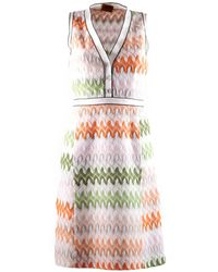 Missoni Multicolor Dress - Lyst