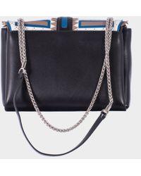 "Paula Cademartori Black ""Alice"" Shoulder Bag Chain - Lyst"