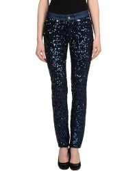 Versus  Denim Pants - Lyst