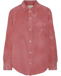 Current/Elliott The Prep School Cotton Shirt - Lyst