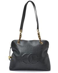 Chanel Pre-Owned Shoulder Bag - Lyst