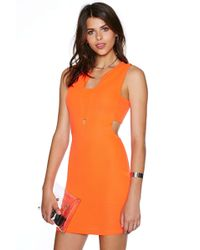 Nasty Gal Bright On Dress - Lyst