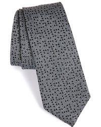 Lanvin - Multi Dot Jacquard Silk Tie - Lyst