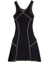 A.L.C. Short Dress black - Lyst