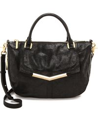 Botkier Brooke Satchel  Black - Lyst