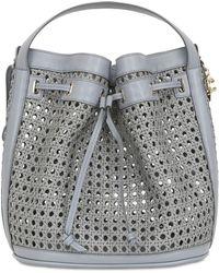 Corto Moltedo - Bentota Woven Faux Leather Bucket Bag - Lyst