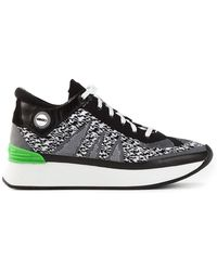 Kenzo Fly Knit White Noise Sneakers - Lyst