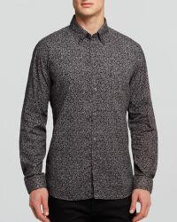 Diesel Micro Floral Oxford Sport Shirt Slim Fit - Lyst