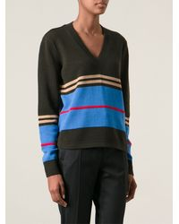 Givenchy Striped Jumper - Lyst