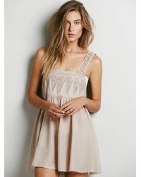 Free People Sail Away Sally Slip - Lyst